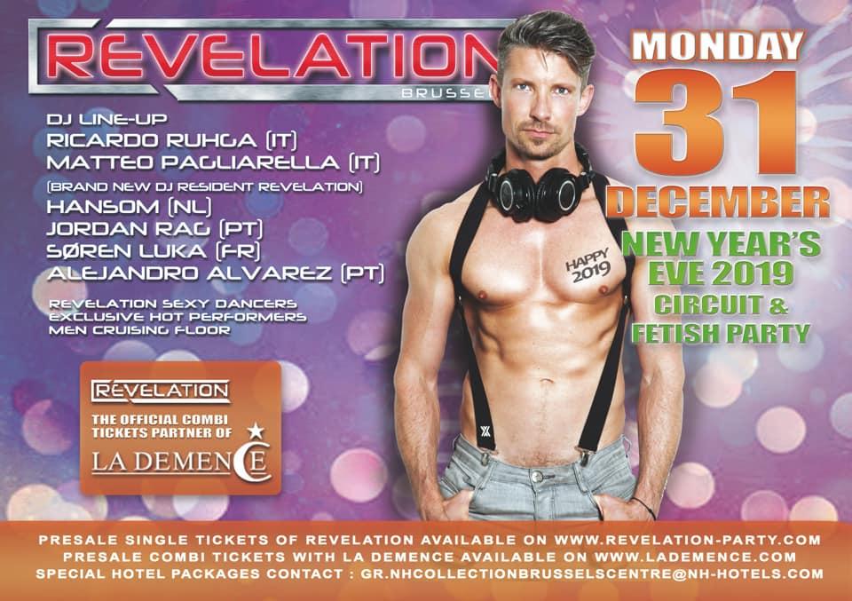 soirée Revelation - NEW YEAR's EVE