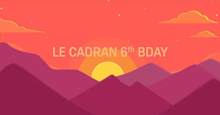 soirée Le Cadran 6th birthday