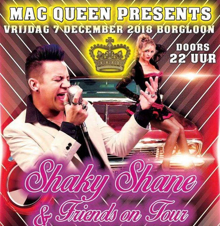 Shaky Shane & Friends On Tour - Friday 07/12/2018, Dancing Mac Queen