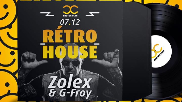 party Retro House Party - Frank Zolex, G-Froy