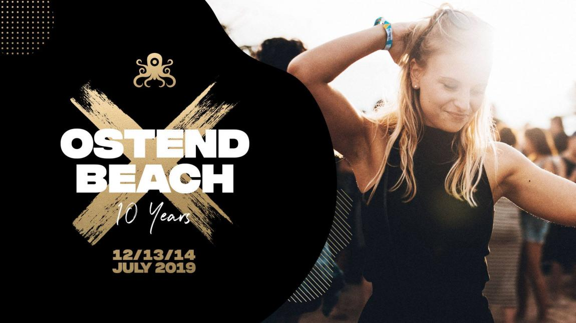 party Ostend Beach  10 Years