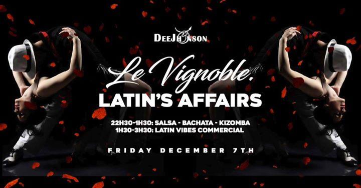 soirée Le Vignoble Latin's Affairs December edition
