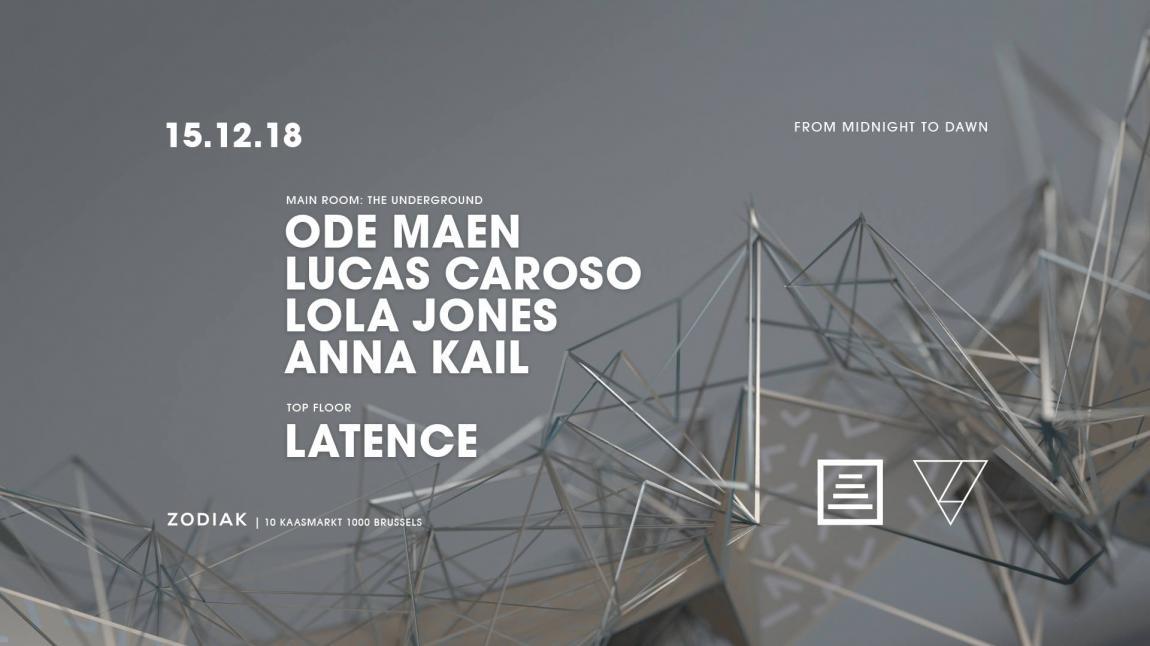 party The Underground: Ode Maen, Lucas Caroso, Anna Kail and Lola Jones