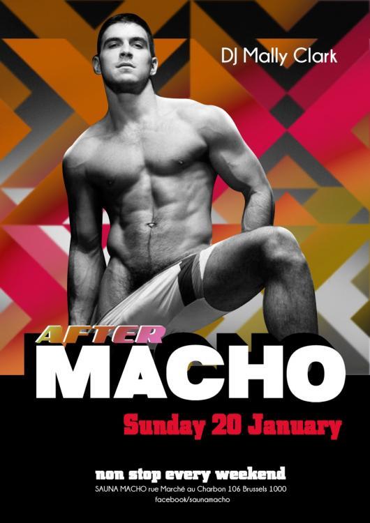 AFTER MACHO - Sunday 20/01/2019, Macho Sauna