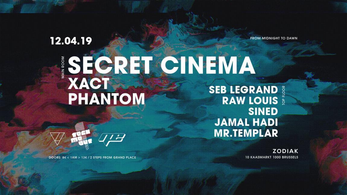 Tech Me Out! x NPE - Secret Cinema - Vendredi 12/04/2019, Zodiak