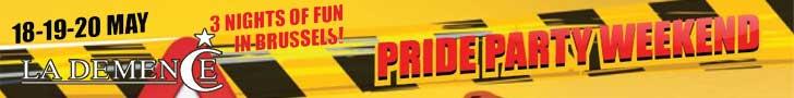 La Demence - Gay Pride Brussels 2018
